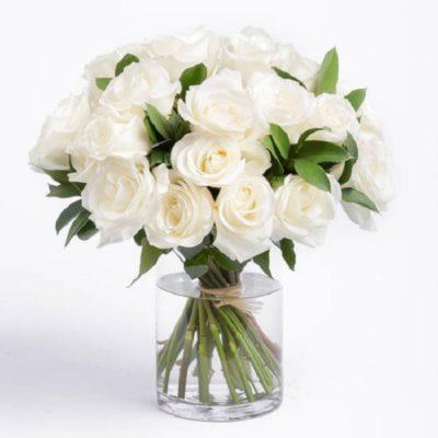 букет-из-31-белой-розы