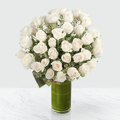 букет-из-51-белой-розы